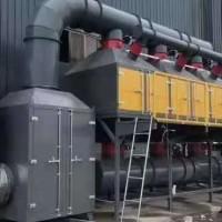 催化燃燒設備中的催化裝置